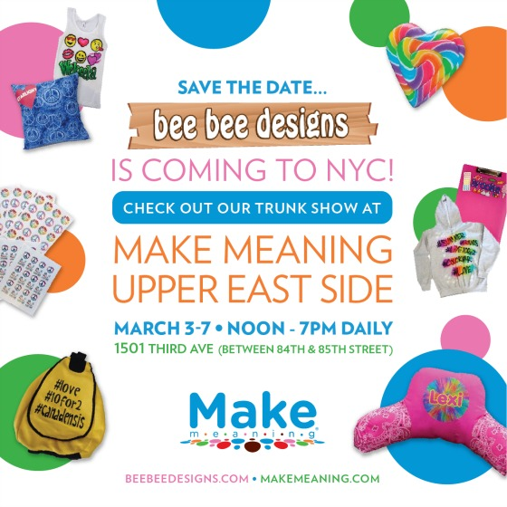 Make Meaning Trunk Show Flyer